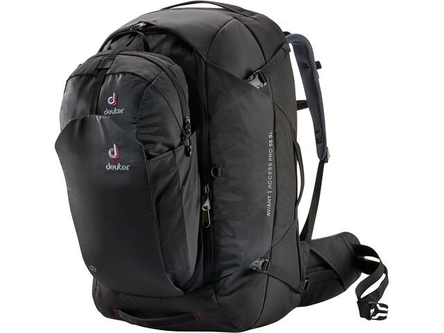 Deuter Aviant Access Pro 55 SL Mochila de Viaje Mujer, black